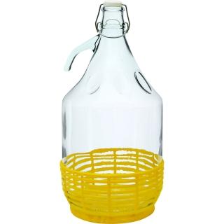 Gąsior Dama z drucianym zamknięciem i koszyczkiem - 5 litrów