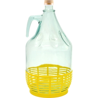 Gąsior Dama z zakrętką i koszyczkiem - 5 litrów
