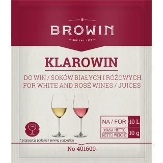 Klarowin - do win białych i różowych - 10 g