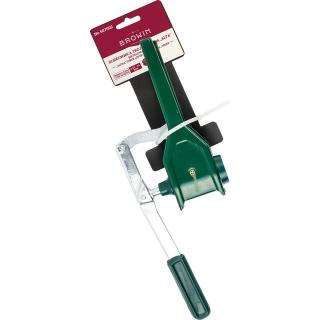 Korkownica trójramienna metalowa - Alfa - zielona