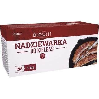 Nadziewarka pozioma do kiełbas, kabanosów, salami i innych wędlin - na 3 kg mięsa