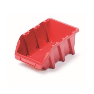 Skrzynka narzędziowa, kuweta warsztatowa - Bineer Long - 11,8 x 19,8 cm - czerwony