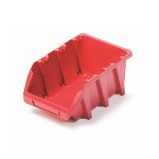 Skrzynka narzędziowa, kuweta warsztatowa - Bineer Long - 15,8 x 24,9 cm - czerwony