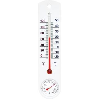 Termometr zewnętrzny/wewnętrzny biały