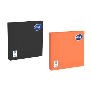 Serwetki papierowe - 33 x 33 cm - AHA - 100 szt. + 20 szt. GRATIS - kolory halloween