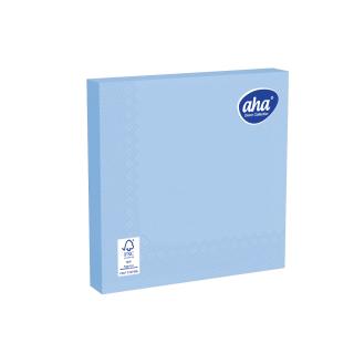 Serwetki papierowe - 33 x 33 cm - AHA - 20 szt. - niebieskie