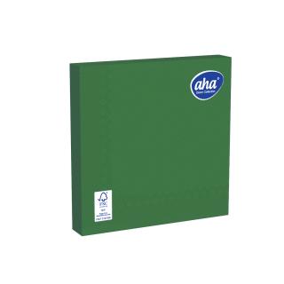 Serwetki papierowe - 33 x 33 cm - AHA - 100 szt. + 20 szt. GRATIS - zielone
