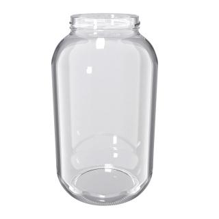 Słój zakręcany szklany, słoik - fi 100 - 4,25 l