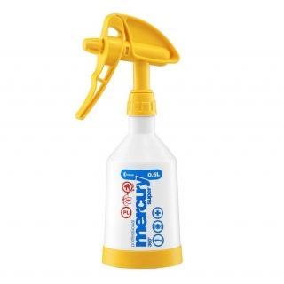 Opryskiwacz ręczny Mercury Super 360 Cleaning Pro+ - żółty - 0,5 l - Kwazar