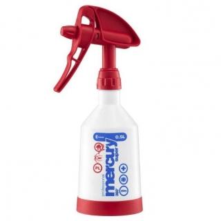 Opryskiwacz ręczny Mercury Super 360 Cleaning Pro+ - czerwony - 0,5 l - Kwazar