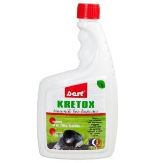 Kretox - trawnik bez kopców - odstraszacz kretów - 750 ml