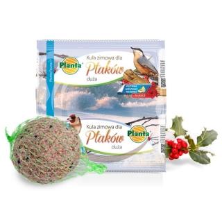 Pokarm zimowy dla ptaków - duża kula - Planta - 220 g