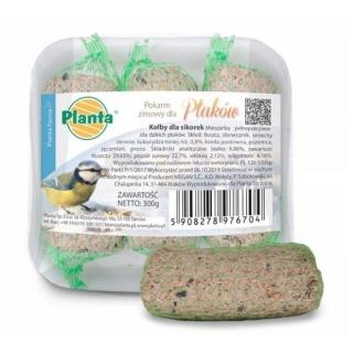 Pokarm zimowy dla ptaków - kolby dla sikorek - Planta - 3 sztuki