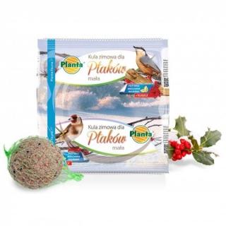 Pokarm zimowy dla ptaków - mała kula - Planta - 100 g