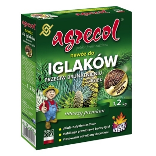 Nawóz do iglaków przeciwko brunatnieniu igieł - Agrecol - 1,2 kg