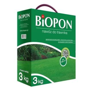 Nawóz do trawnika - Biopon - 3 kg