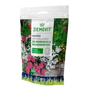 Nawóz krystaliczny do kompozycji balkonowych - Ziemovit - 200 g
