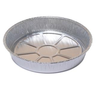 Foremka aluminiowa do pieczenia - okrągła - do tart owocowych, jabłeczników i biszkoptów - 1,36 l - 4 szt.