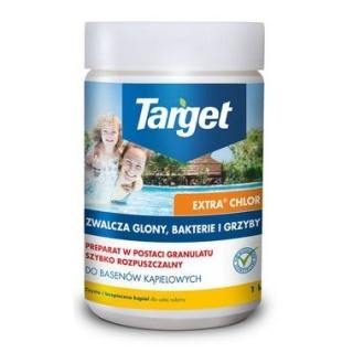 Extra Chlor - granulki do dezynfekcji wody w basenie - Target - 1 kg