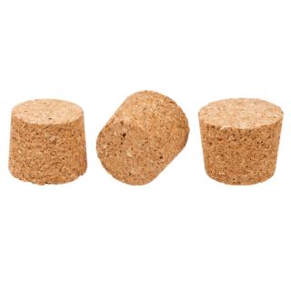 Korek naturalny stożkowy - aglomerowany - 50/43 mm