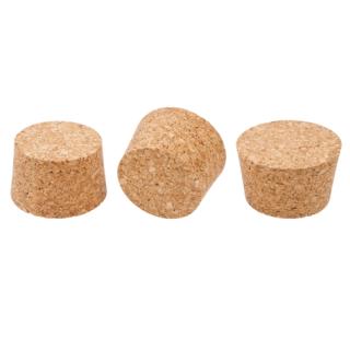 Korek naturalny stożkowy - aglomerowany - 65/56 mm