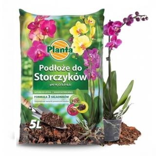 Podłoże do storczyków - pH 5 - 6 - Planta - 5 litrów