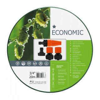 Wąż ogrodowy ECONOMIC z kompletem przyłączy - 3/4'', 20m - CELLFAST