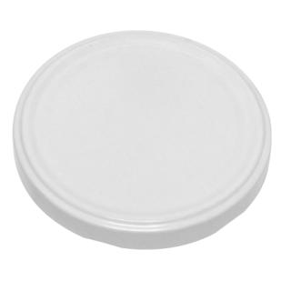 Zakrętki do słoików - białe - śr. 66 mm - 10 szt.
