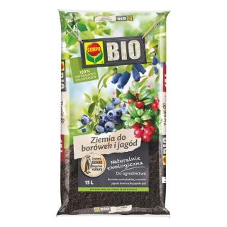 BIO Podłoże do borówek i jagód - Compo - 15 litrów