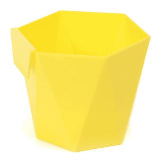 Modułowa osłonka na zioła Heca - 12,5 cm - żółta