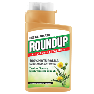 Roundup - AntyChwast - TOTAL Ultra - naturalny Roundup bez glifosatu! - 280 ml