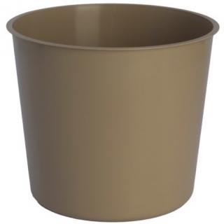 Wkład okrągły - do doniczek o średnicy 20 cm - beżowy (cafe latte)