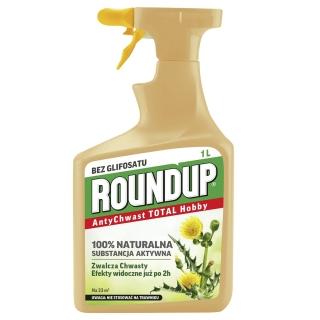 Roundup - AntyChwast - TOTAL RTU - naturalny Roundup bez glifosatu! - gotowy do użycia 1 l