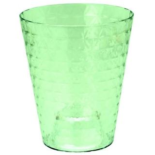 Osłonka do storczyków Diament Petit - 13 cm - limonka transparentna