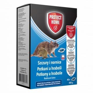Rodicum Extra - środek w saszetkach do zwalczania nornic i szczurów - Protect Home - 40 szt.