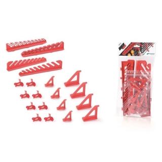 Zestaw wieszaków na narzędzia - Bineer Hooks - 20 sztuk