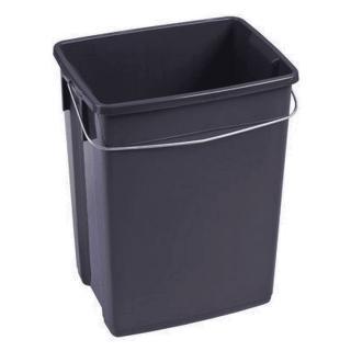 Kosz na odpady organiczne Bio Box - 10 litrów - szary