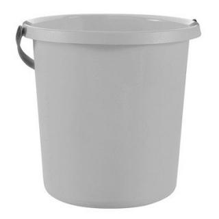 Wiadro okrągłe Essentials - 5 litrów - szary