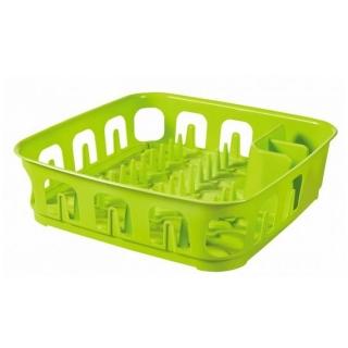 Suszarka kwadratowa do naczyń Essentials - zielony