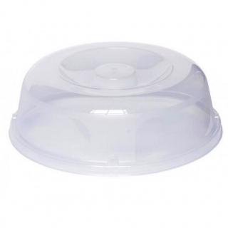 Przykrywka na talerz do kuchenki mikrofalowej - transparentna