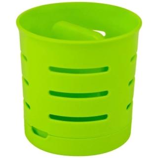 Ociekacz na sztućce - dwukomorowy - zielony