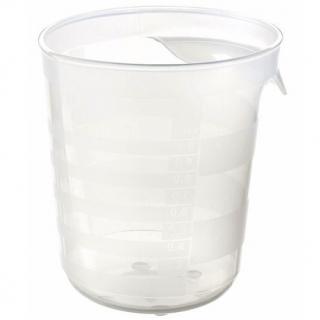 Pojemnik z miarką - miarka kuchenna - 1 litr - transparentny