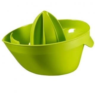 Wyciskacz do cytrusów z lejkiem - zielony