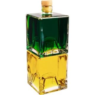 Butelki do nalewek, syropów, soków, które można przechowywać jedna na drugiej - Bruno - 500 ml - 2 szt.
