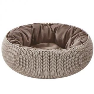 Łóżko, legowisko dla zwierząt Knit - beżowy