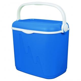 Lodówka turystyczna Camping - 32 litry - niebiesko-biały