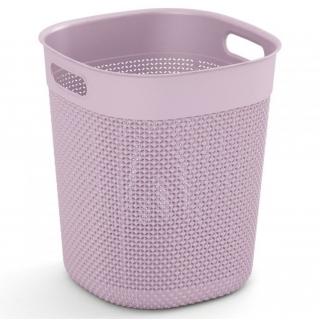 Kosz okrągły Filo Bucket - 16 litrów - różowy