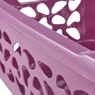 Kosz na pranie - Jost - 55 x 40 cm - berry