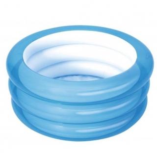 Basen ogrodowy - okrągły - niebieski - 70 x 30 cm