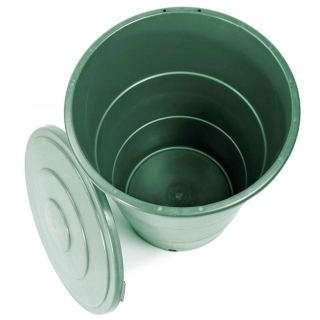Zbiornik na deszczówkę, pojemnik na wodę Eco Tank - 200 litrów - zielony leśny - DOSTAWA GRATIS!